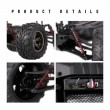 Blue S9115 Off Road Truck ,1/12 Scale RC Car 2.4Ghz 2WD High Speed Remote Controlled-3