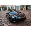Licensed Mclaren 720S Painted Metallic Onyx Black 12 Volt -2