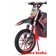 Red Electric Dirt Bike 36V 500 Watt Motor In Stock -4