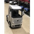 Painted Silver Licensed MERCEDES-BENZ ACTROS TRUCK Ride On Car-1