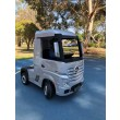 Painted Silver Licensed MERCEDES-BENZ ACTROS TRUCK Ride On Car-0