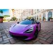 Purple Mclaren 720S  Kids electric Car