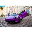 Purple Mclaren 720S  Kids Ride On Toy
