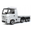 White Licensed MERCEDES-BENZ ACTROS TRUCK With Flatbed
