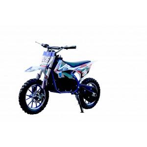 Pre- Order Blue Electric Dirt Bike with Blue Frame 36V 500 Watt Motor ETA 20/10/2020