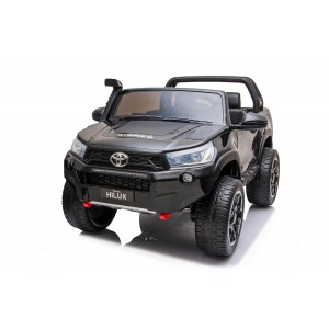 New 2021 Licensed Painted Metallic Black Toyota Hilux With 7 Inch MP4 Touch Screen In Stock