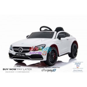 New Licensed Mercedes C63 AMG White In Stock