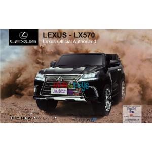 Pre- Order licensed Lexus LX- 570 Metallic Black 18/12/19