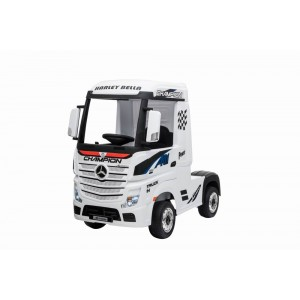 Pre Order White Licensed MERCEDES-BENZ ACTROS TRUCK 1/12/19