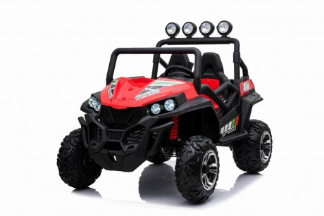 New 2019 Beach Buggy Red 24 Volt and 200W Motors-1