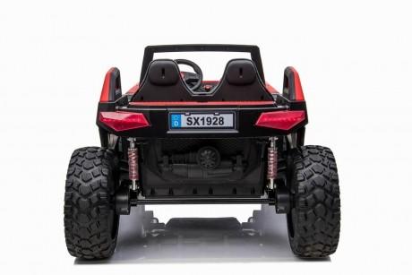 Pre-Order Red 2020 Dakar 24 Volt Dune Buggy 4WD Runs With 4 x 550w Motors -4