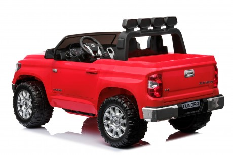 Pre-Order Licensed Toyota Tundra 24 volt Painted Red and Parent remote ETA 07/12/2021 -7