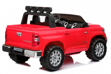Pre-Order Licensed Toyota Tundra 24 volt Painted Red and Parent remote ETA 07/12/2021 -6