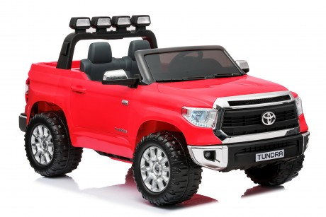 Pre-Order Licensed Toyota Tundra 24 volt Painted Red and Parent remote ETA 07/12/2021 -3