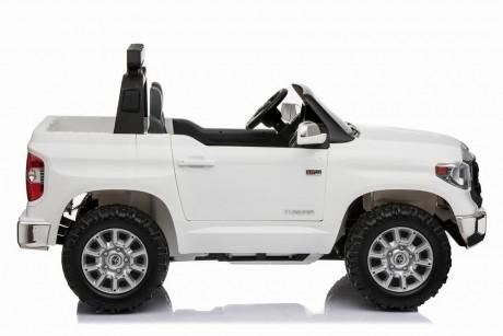 White 24 Volt Toyota Tundra Kids Electric Ride On Toy Car DArwin