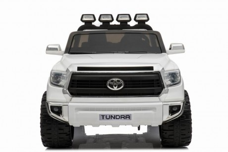 White 24 Volt Toyota Tundra Kids Electric Ride On Toy Car Melbourne