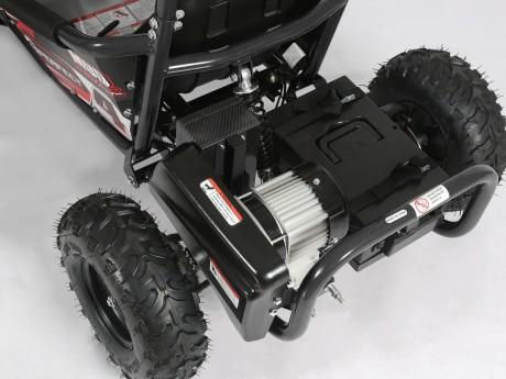 Pre-Order Black and Green  Electric Go Kart 48V with 1000w Brushless Motor ETA 07/12/2021 -10