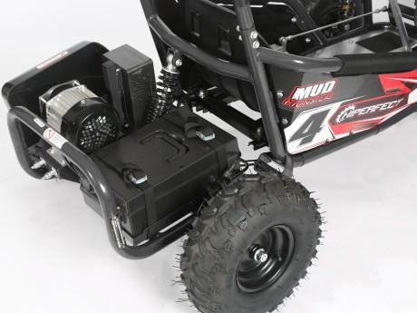 Pre-Order Black and Green  Electric Go Kart 48V with 1000w Brushless Motor ETA 07/12/2021 -9