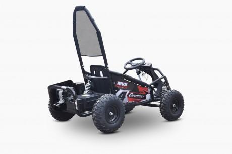 Pre-Order Black and Green  Electric Go Kart 48V with 1000w Brushless Motor ETA 07/12/2021 -7