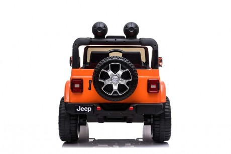 12 volt orange Jeep Ride on Toy Car ship to Victoria