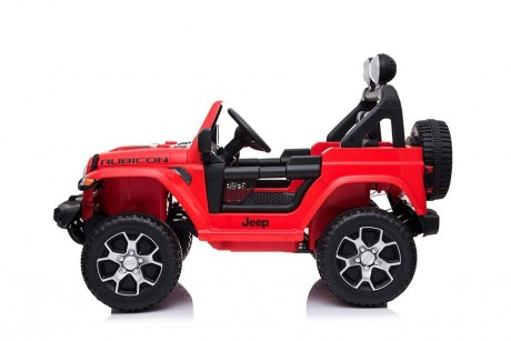 12volt Red Jeep Ride on Toy Car working doors