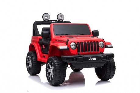 12volt Red Jeep Ride on Toy Car working lights