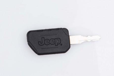 Kids Ride on Car white Jeep Rubicon key start