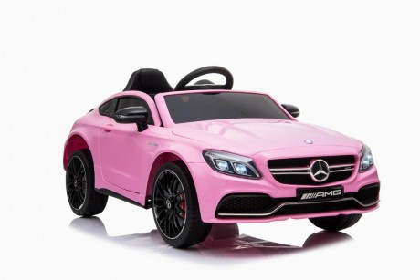 Ride on car Kids Mercedes  C63 AMG Pink Ship to  Darwin