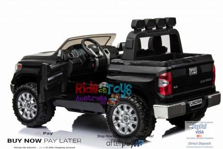 Pre-Order Licensed Toyota Tundra 24 volt Painted Black and Parent remote ETA 07/12/2021 -10