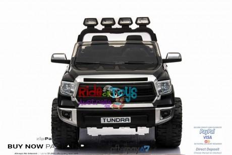 Pre-Order Licensed Toyota Tundra 24 volt Painted Black and Parent remote ETA 07/12/2021 -1