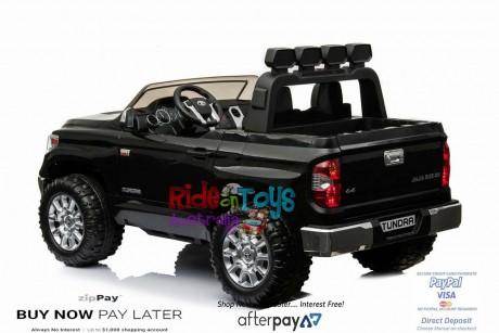 Pre-Order Licensed Toyota Tundra 24 volt Painted Black and Parent remote ETA 07/12/2021 -3