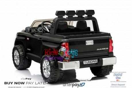Pre-Order Licensed Toyota Tundra 24 volt Painted Black and Parent remote ETA 07/12/2021 -5
