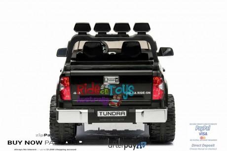 Pre-Order Licensed Toyota Tundra 24 volt Painted Black and Parent remote ETA 07/12/2021 -6