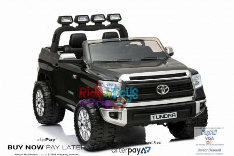 Pre-Order Licensed Toyota Tundra 24 volt Painted Black and Parent remote ETA 07/12/2021 -7