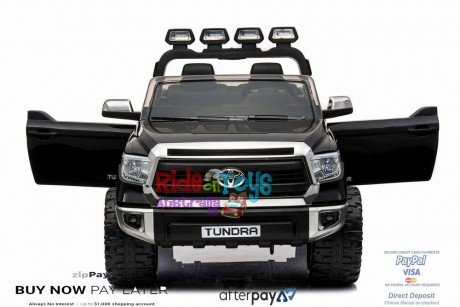 Licensed Toyota Tundra 24 volt Painted Black and Parent remote -8