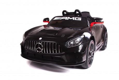 Painted Black Licensed Mercedes Benz GT4 AMG Special Sports Edition 2 x 35 Watt Motors -2