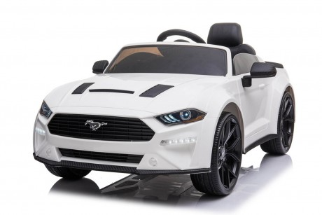 New Licensed 2021 Drift Ford Mustang in White 24Volt With Parent Remote In-Stock-2