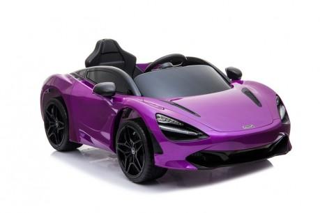 Licensed Mclaren 720S Painted Metallic Lantana Purple 12 Volt-23