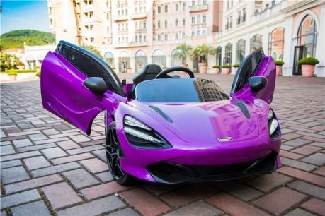 Purple Mclaren 720S  Kids Toy Car