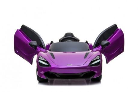 Licensed Mclaren 720S Painted Metallic Lantana Purple 12 Volt-18
