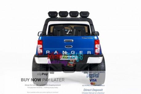 Licensed Metallic Blue Ford Ranger Wildtrak In Stock -8