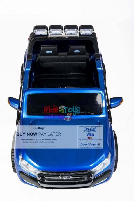 Licensed Metallic Blue Ford Ranger Wildtrak In Stock -6