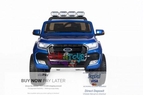 Licensed Metallic Blue Ford Ranger Wildtrak In Stock -2