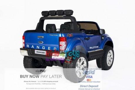 Licensed Metallic Blue Ford Ranger Wildtrak In Stock -5