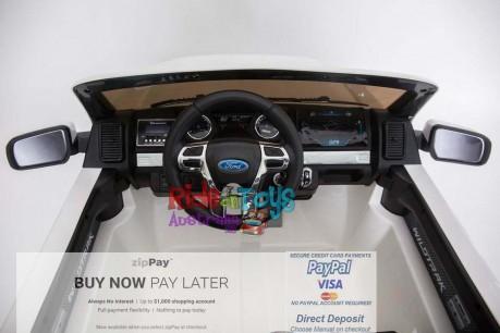 Licensed White Ford Ranger Wildtrak In Stock -10