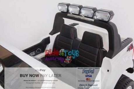 Licensed White Ford Ranger Wildtrak In Stock -11