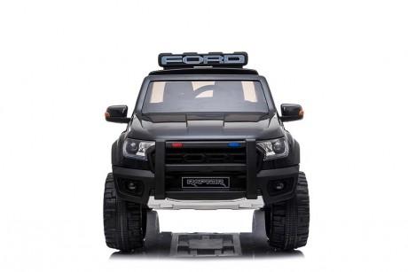 Licensed Ford Ranger Police RAPTOR Painted Black 12Volt In Stock-1