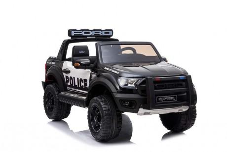 Licensed Ford Ranger Police RAPTOR Painted Black 12Volt In Stock-8