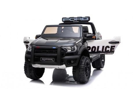 Licensed Ford Ranger Police RAPTOR Painted Black 12Volt In Stock-10