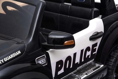 Licensed Ford Ranger Police RAPTOR Painted Black 12Volt In Stock-14